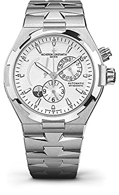 Vacheron Constantin Overseas Dual Time Automatic Silver Dial Stainless Steel Mens Watch 47450/B01A-9226