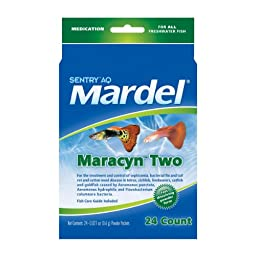 Mardel Maracyn-Two Powder Packets Water Treament (Freshwater), 24ct