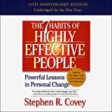 by Stephen R. Covey (Narrator, Author), Simon & Schuster Audio (Publisher)(3655)Buy new: $28.30$23.9510 used & newfrom$23.95