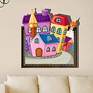Bluelover 3D Baby Kids Room Cartoon Lovely Cute Home Wall Decals Removable Wall Paper Stickers Art DIY Gift Decoration by Bluelover