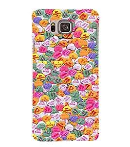 EPICCASE Emotional hearts Mobile Back Case Cover For Samsung Galaxy Alpha (Designer Case)