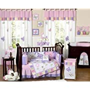 Belle Butterfly Dreams Baby Bedding Collection