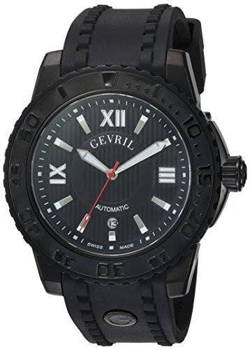 Gevril-Mens-3110-Seacloud-Analog-Display-Automatic-Self-Wind-Black-Watch