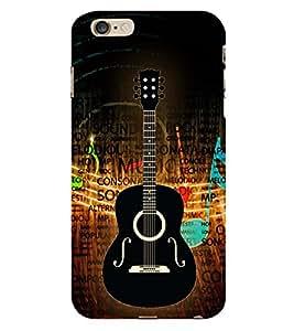 Music is Gitar Songs 3D Hard Polycarbonate Designer Back Case Cover for Apple iPhone 6S
