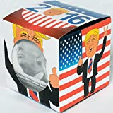 Donald Trump Toilet Paper by Smear Campaigns with quotes, photos, and colorful funny display box, the ultimate political gag gift of the 2016 presidential race - highly collectible - Dump Trump!
