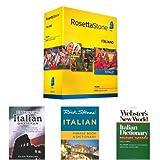 Rosetta Stone Italian Language Learning Bundle