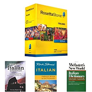 Rosetta Stone Italian Language Learning Bundle
