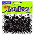 36 araignées affreuses - Jouets Halloween - sacs à cadeaux