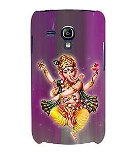 Tandava Ganesha Cute Fashion 3D Hard Polycarbonate Designer Back Case Cover for Samsung Galaxy S3 mini I8190 :: Samsung I8190 Galaxy S III mini :: Samsung I8190N Galaxy S III mini