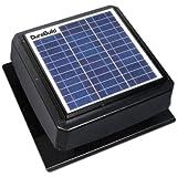 Durabuild 527S-DUB-106-BLK Roof Mount Solar Powered Attic Fan, 20-watt