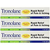 Tronolane Hemorrhoid Cream 1 Oz (3 Pack)