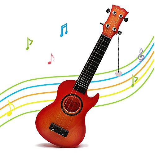 Guitare Enfant 3 Ans Ukulele Enfant Loisirs Créatifs par Wishtime(Couleur Aléatoire)