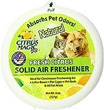 Citrus Magic Pet Odor Absorbing Solid Air Freshener, Fresh Citrus, 8-Ounce