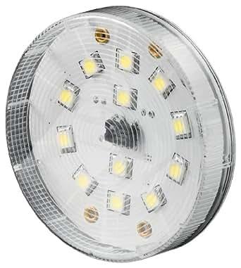 Goobay 30410 LED Lampe GX5.3 Ambient weiß mit 12 SMD Chip