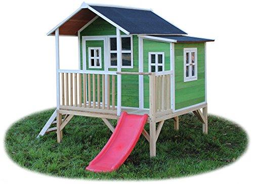EXIT Stelzenhaus »EXIT Loft 350 grün mit Veranda«