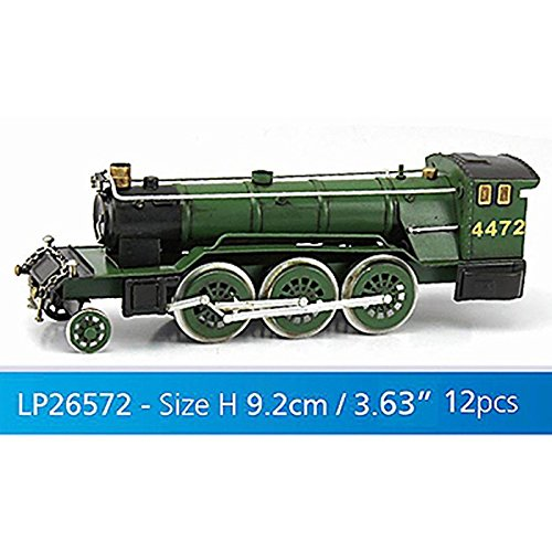 Lesser & Pavey 12-Piece Metal Flying Scotsman Collectible, Green