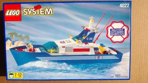 Lego C26 Sea Cutter Boat 4022