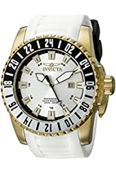 Invicta Men's 19683 Pro Diver Analog Display Swiss Quartz White Watch
