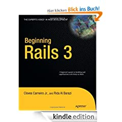 Beginning Rails 3 (Expert's Voice in Web Development)