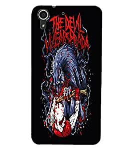 HTC DESIRE 728 FIGHT Back Cover by PRINTSWAG