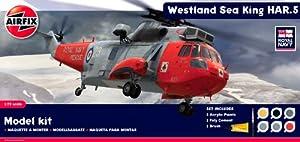 Airfix A50113 Royal Navy Westland Sea King HAR.5 1:72 Scale Diorama Gift Set