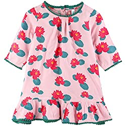 Snuggles Girls Aline Long Sleeve Dress - Pink (12-18M)
