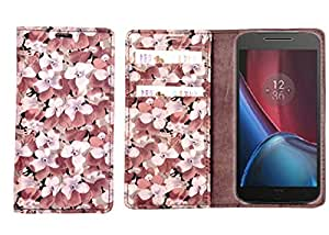 R&A Pu Leather Wallet Case Cover For HTC Desire 601