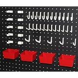 WallPeg 43 Pc. Kit with Plastic Bins & Pegboard Hook Assortment R/W # AM 303 -2 at Sears.com