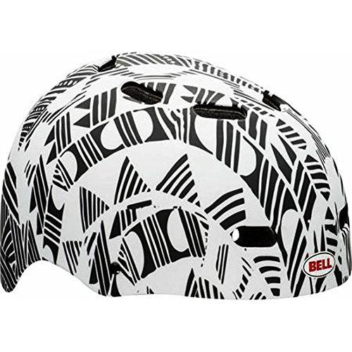 Black-White-Bell-Bike-Helmet-Maniac-Childs-Ages-5