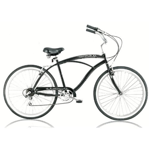 Pantera 7 speed 26 Mens Beach Cruiser Bike