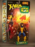 X-Men Gambit Action Figure featuring Light Up Weapon