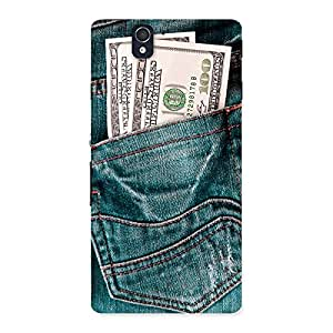 Ajay Enterprises Moneyjeans Back Case Cover for Sony Xperia Z