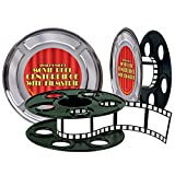 Movie Reel w/Filmstrip Centerpiece (15' filmstrip included) Party Accessory  (1 count) (1/Pkg)