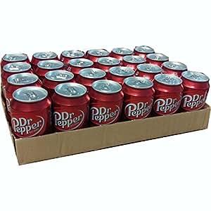 Dr. Pepper Cannette, Lot de 24, 24 x 0,33 l