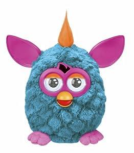Furby mohicano azul - Mascota electrónica (habla español) (Hasbro A3147500)