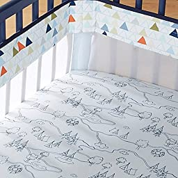 Just Born Adventure Fresh Air Crib Liner