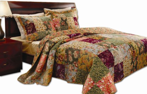 Why Should You Buy Greenland Home Antique Chic King Quilt Set