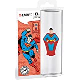 Emtec Super Heroes 3D (superman) Flash Drive USB 2.0 8GB