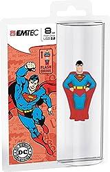 Emtec Super Heroes 3D (superman) Flash drive USB 2.0 8GB