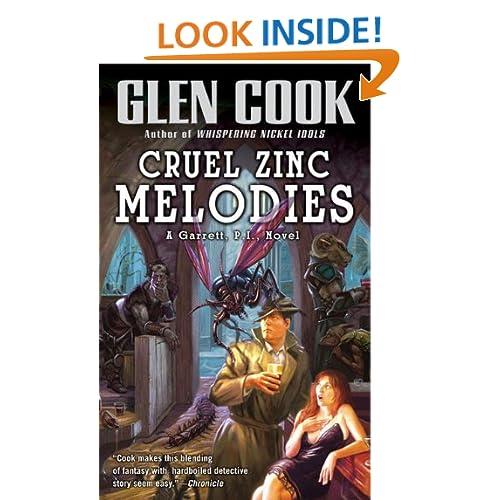 Cruel Zinc Melodies (Garrett, P.I. #12)