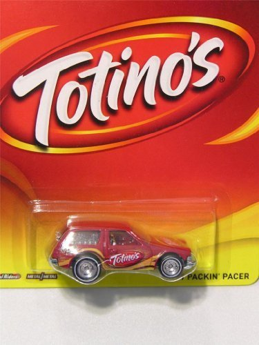 Hot Wheels General Mills Totino's '77 Packin' Pacer Red