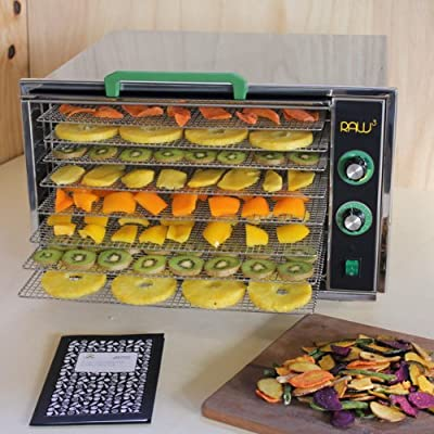 Raw Rutes - Raw Cubed 8 Tray Stainless Steel Food Dehydrator by Raw Rutes