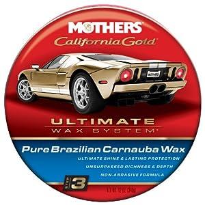MOTHERS 05550 Pure Brazilian Carnauba Wax Paste, California Gold