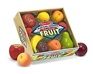 Melissa and Doug Play-Time Fruits and Cutting Food Box