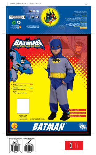 Rubie's Costume Co Batman Party Makeup Set Costume - 1