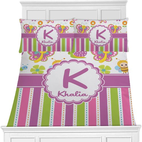 Butterfly Toddler Bedding Set