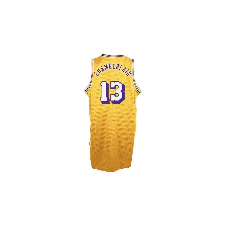51e3cdccc911 Los Angeles Lakers Wilt Chamberlain Hardwood Classics Swingman Jersey