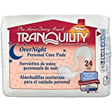 Tranquility Personal Care Pads, Overnight, Case/96 (4/24s)