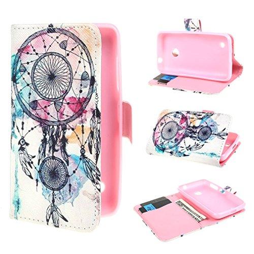 ivencase Dream Catcher Design Portafoglio PU Pelle Stare Flip Protettivo Skin Custodia Protettiva Shell Case Cover Per Nokia Lumia 530 (4.0 inch)
