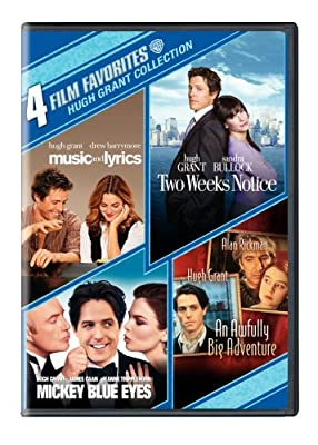 4 Film Favorites: Hugh Grant (An Awfully Big Adventure, Mickey Blue Eyes, Music and Lyrics, Two Weeks Notice)